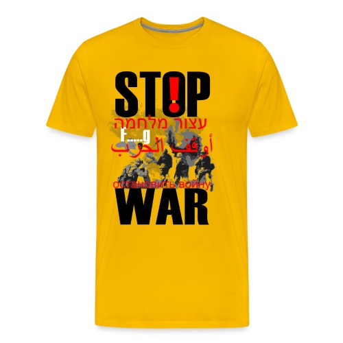 Stopwar - dont fight any more - Men's Premium T-Shirt