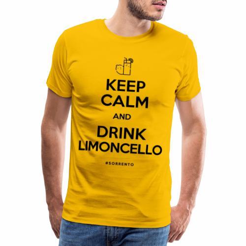 Restez calme et buvez du Limoncello - T-shirt Premium Homme