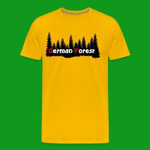 GermanForest 2 png - Männer Premium T-Shirt