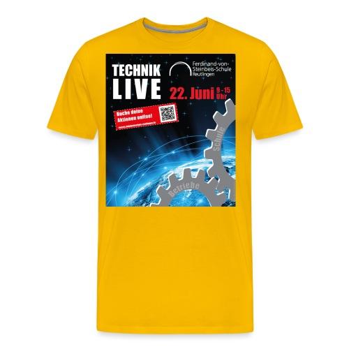 TECHNIK LIVE 2018 - Männer Premium T-Shirt
