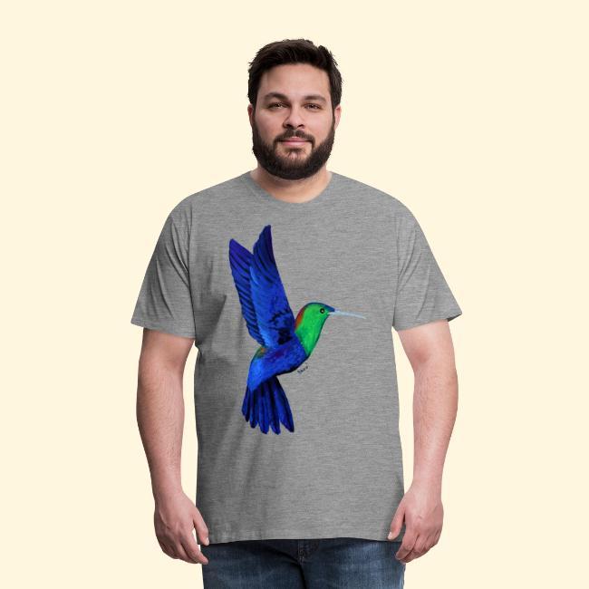 Colibri bleu et vert