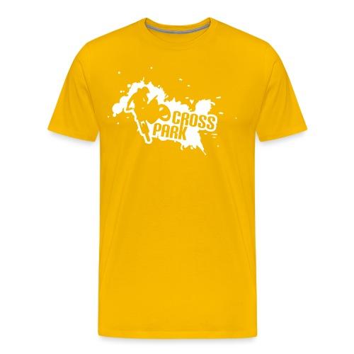 Crosspark monocolore - Maglietta Premium da uomo