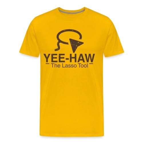 Graphic Designer Lasso Tool Shirt - Men's Premium T-Shirt