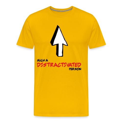 DISTRACTIVATED - Camiseta premium hombre