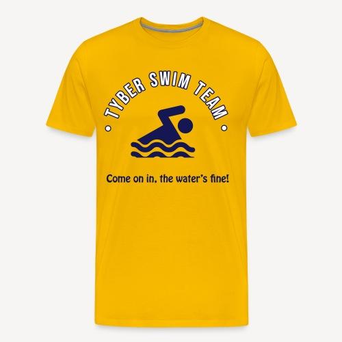 TYBER SWIM TEAM - Men's Premium T-Shirt