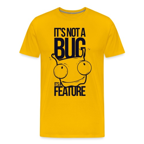 BUG FEATURE - Männer Premium T-Shirt