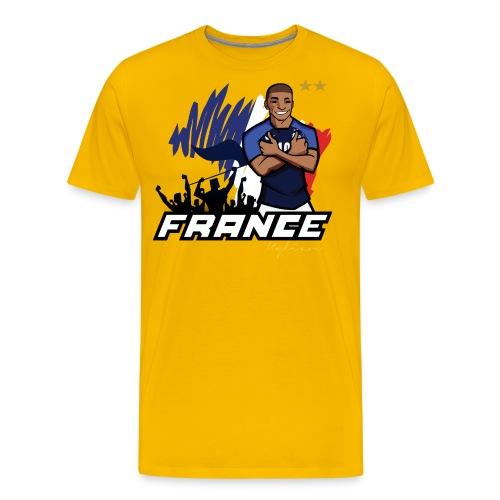 tee shirt france mbappé - T-shirt Premium Homme