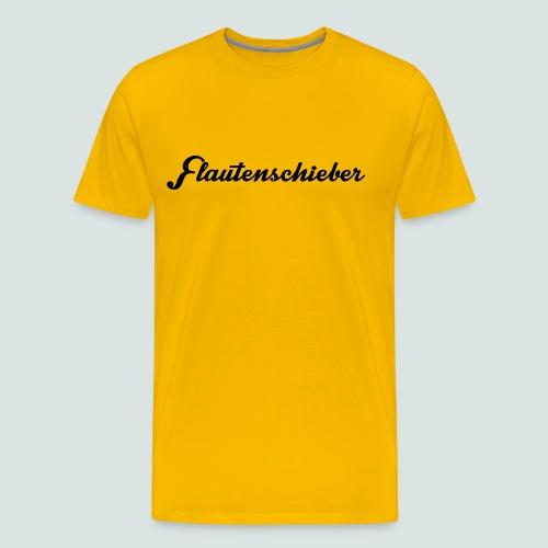 Flautenschieber_01_Intriq - Männer Premium T-Shirt