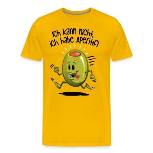 ick kann nicht - Männer Premium T-Shirt