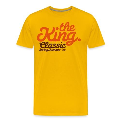 the king classic - Koszulka męska Premium