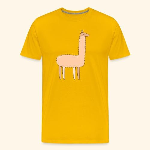 Llama - Men's Premium T-Shirt