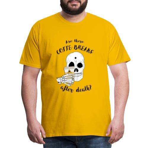 TESCHIO CB - Maglietta Premium da uomo