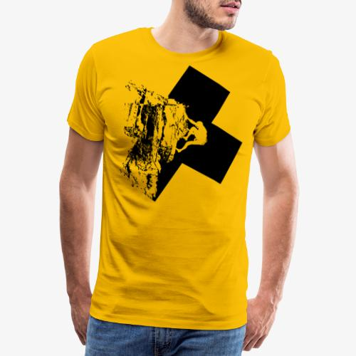 Rock climbing - Men's Premium T-Shirt