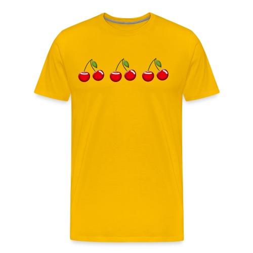 cherries - Men's Premium T-Shirt