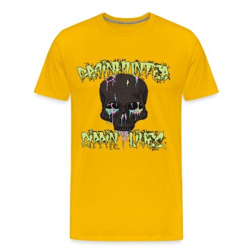 Brainhuntercomplete png - Maglietta Premium da uomo
