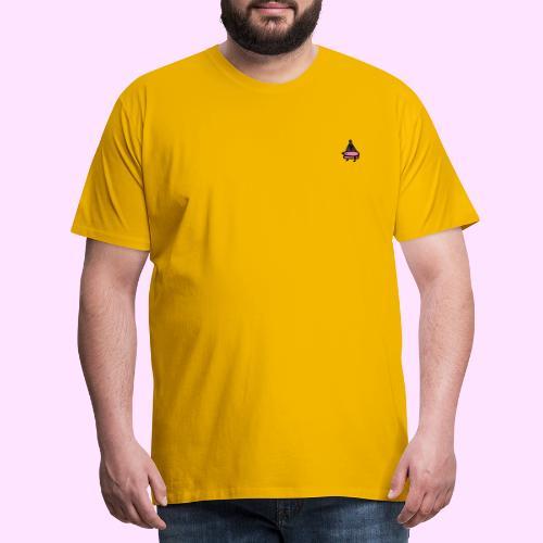 Squished Pinkguin - Herre premium T-shirt
