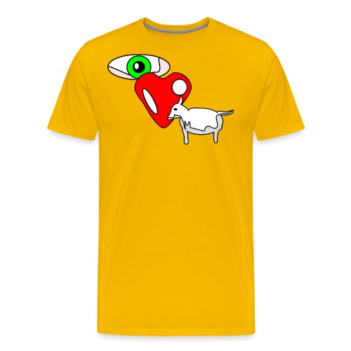 Eye luv Ewe - Men's Premium T-Shirt