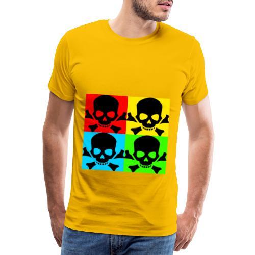 Art Skull - Men's Premium T-Shirt