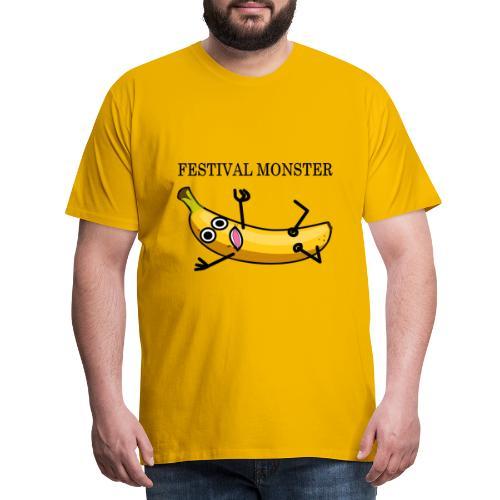 Festival Banane - Männer Premium T-Shirt