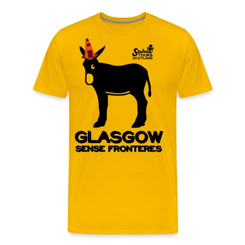 Glasgow Without Borders Catalonia - Men's Premium T-Shirt