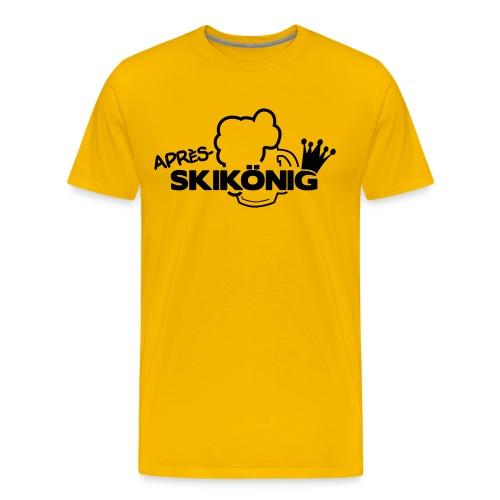 Apres Ski König - Männer Premium T-Shirt