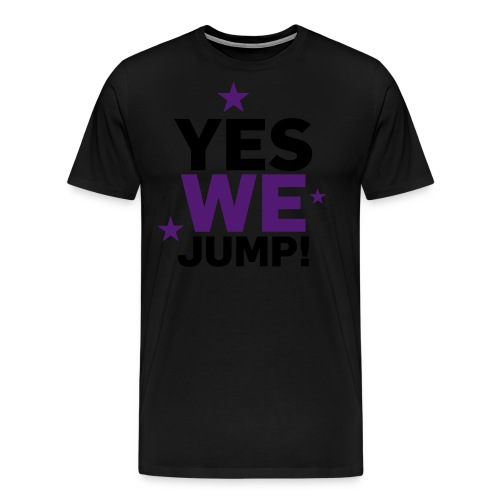yes we jump - Männer Premium T-Shirt