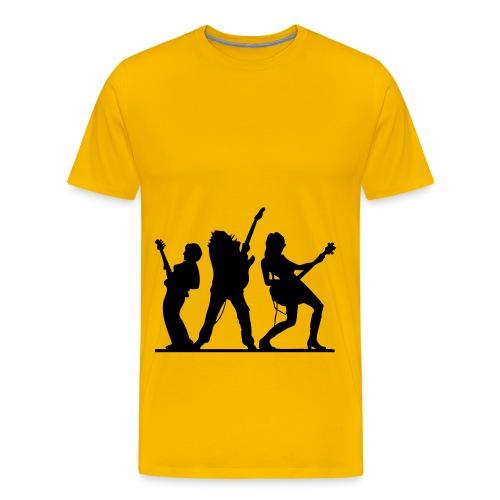 bass & gitarre - Männer Premium T-Shirt
