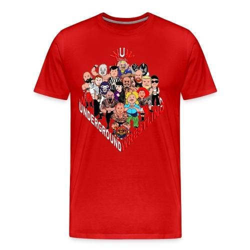 comics-wrestler - Männer Premium T-Shirt