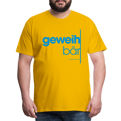 geweihbär 2019 - Männer Premium T-Shirt