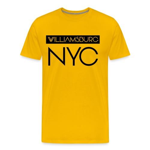 williamsburg - Men's Premium T-Shirt