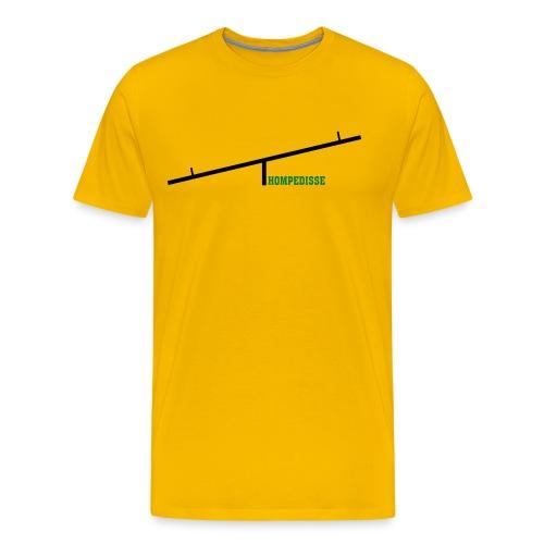 hompedisse - Premium T-skjorte for menn