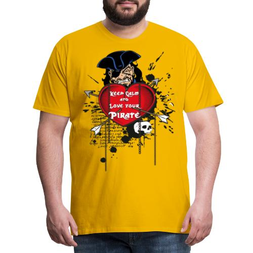 love your pirate - Maglietta Premium da uomo