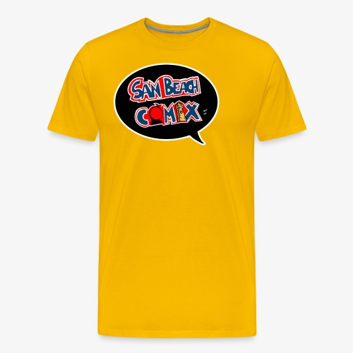 sbt comix bianco - Maglietta Premium da uomo