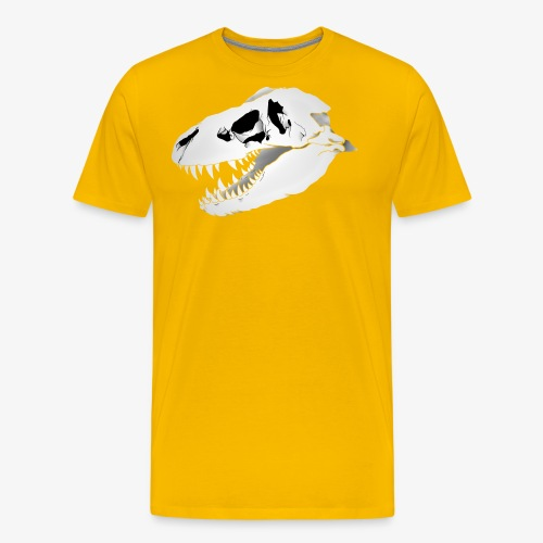 Dino Skull - Men's Premium T-Shirt