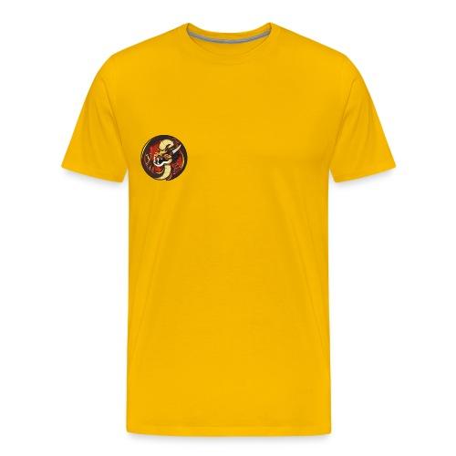 Dragon Logo png - Männer Premium T-Shirt