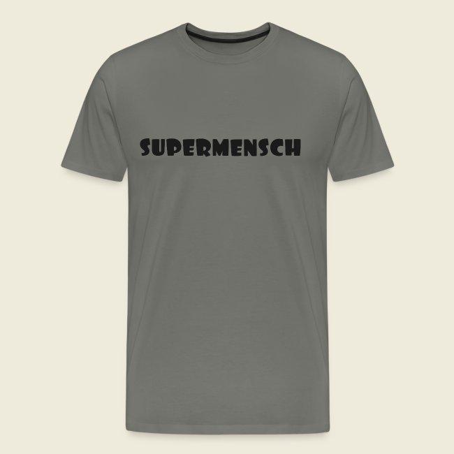 Supermensch in schwarz 2