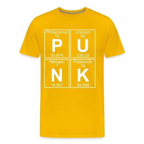 P-U-N-K (punk) - Full - Men's Premium T-Shirt