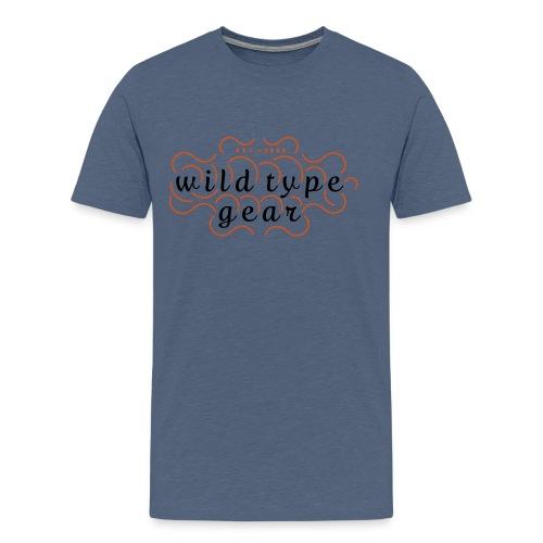 wtg stiched 2 - Men's Premium T-Shirt