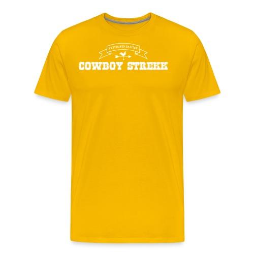 Cowboy Strekk - Premium T-skjorte for menn