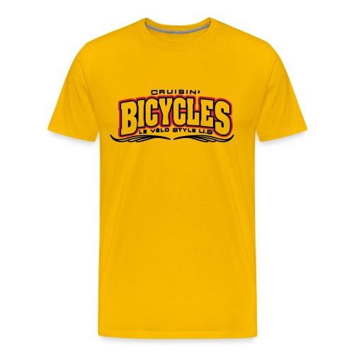 logo cruisin bicycles chris3 - T-shirt Premium Homme