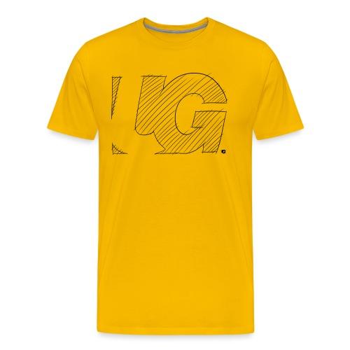 UG Logo sketch - Men's Premium T-Shirt