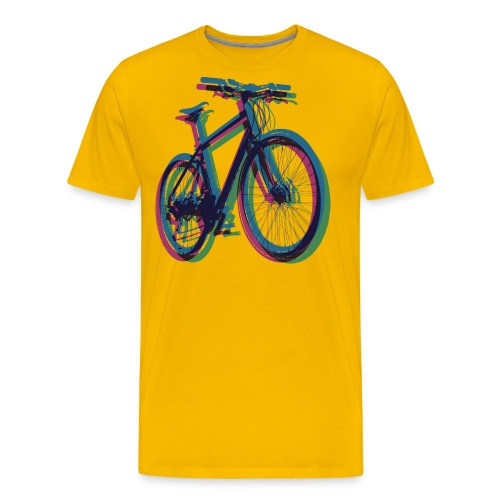 Bike Fahrrad bicycle Outdoor Fun Mountainbike - Men's Premium T-Shirt
