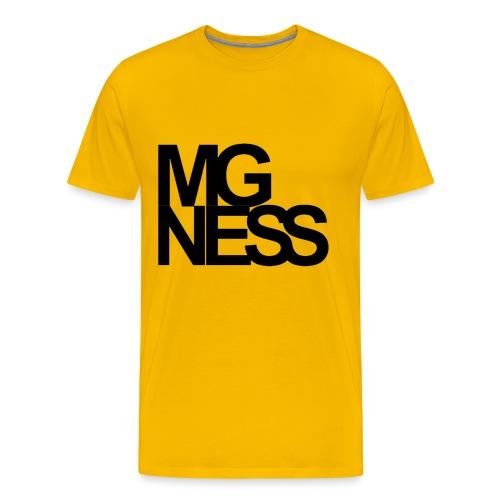 342605 13654757 mgness black hr orig - Männer Premium T-Shirt