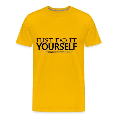 JUST DO IT YOURSELF - Premium-T-shirt herr