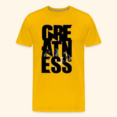 Greatness con Figura - Camiseta premium hombre