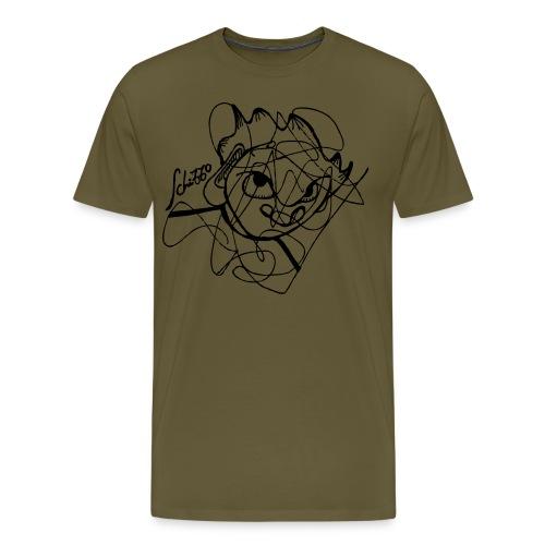 schizzo_artshirt - Maglietta Premium da uomo