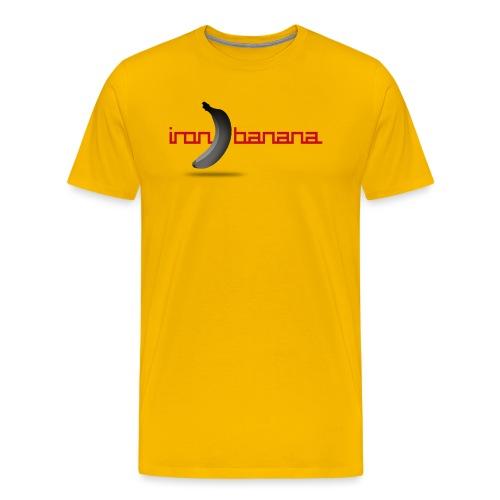 IRON BANANA LOGO - Men's Premium T-Shirt