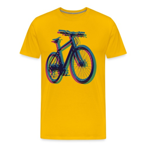 Bike Fahrrad bicycle Outdoor Fun Mountainbike - Men's Premium T-Shirt