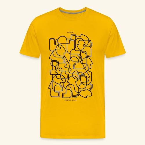 Jonathan Calug - Männer Premium T-Shirt