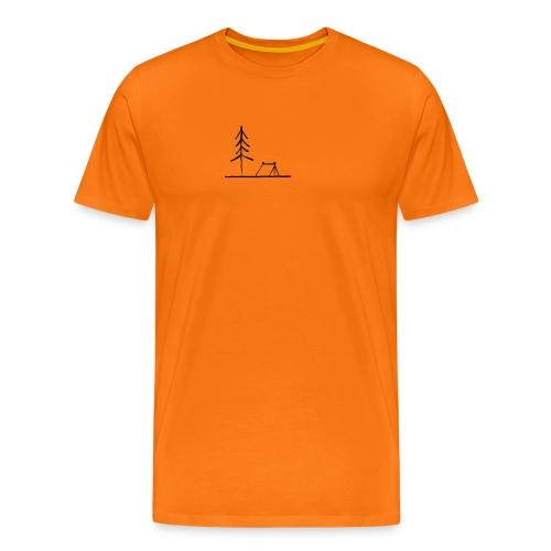 Landscape camping 2 - Maglietta Premium da uomo
